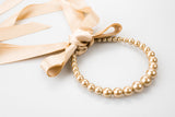 AUDREY Pearl Headband + Necklace