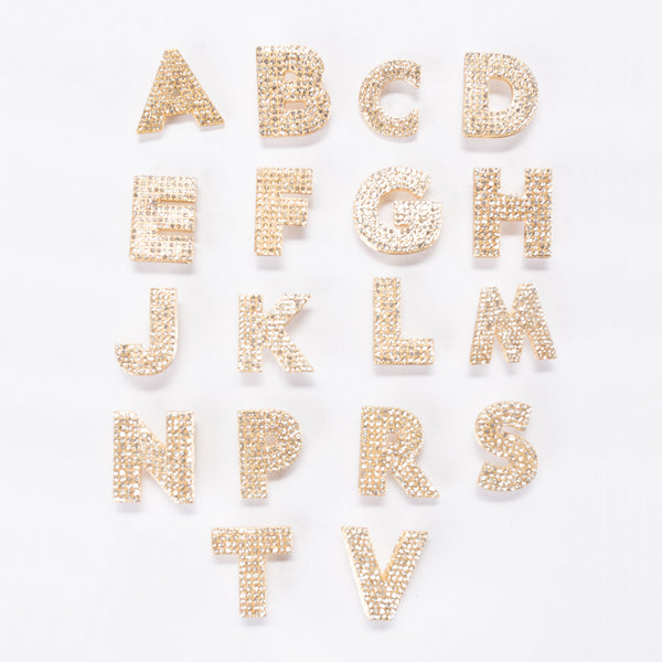 Boxed Crystal Letter Scatter Pins