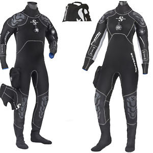Scubapro Everdry Drysuit in women's and mens variations