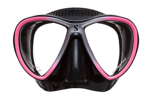 Scubapro Synergy Twin Mask Pink with Black Silicone