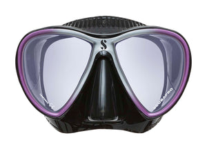 Scubapro Synergy Twin Mask Purple with Black Silicone