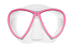 Scubapro Synergy Twin Mask Pink with Clear Silicone