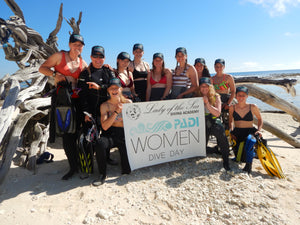 PADI International Women's Dive Day 2020
