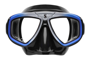 Scubapro Zoom Evo Mask Blue with Black Silicone