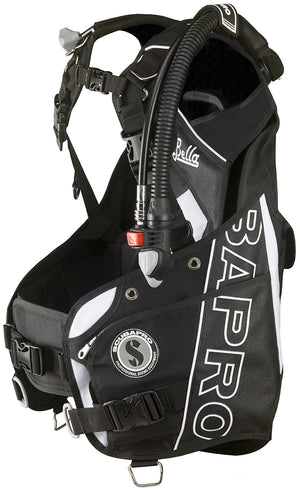 Scubapro Bella white with balanced power inflator