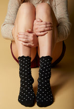 Polka Dot Crew Socks | Love Classic