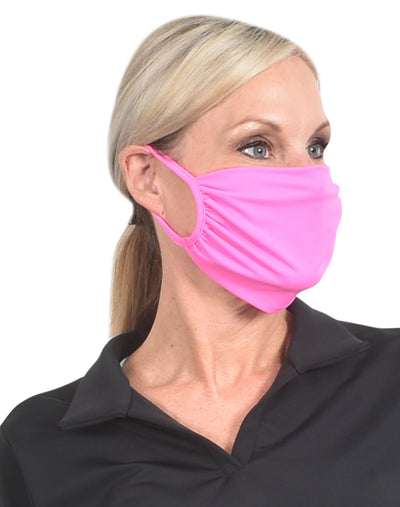 Face Mask Hot Pink