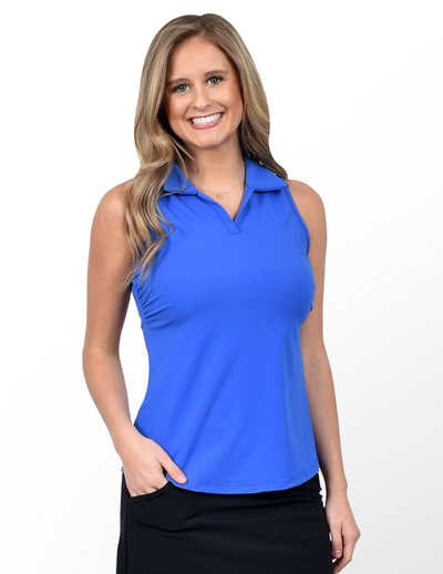 Pebble Beach Top in Royal