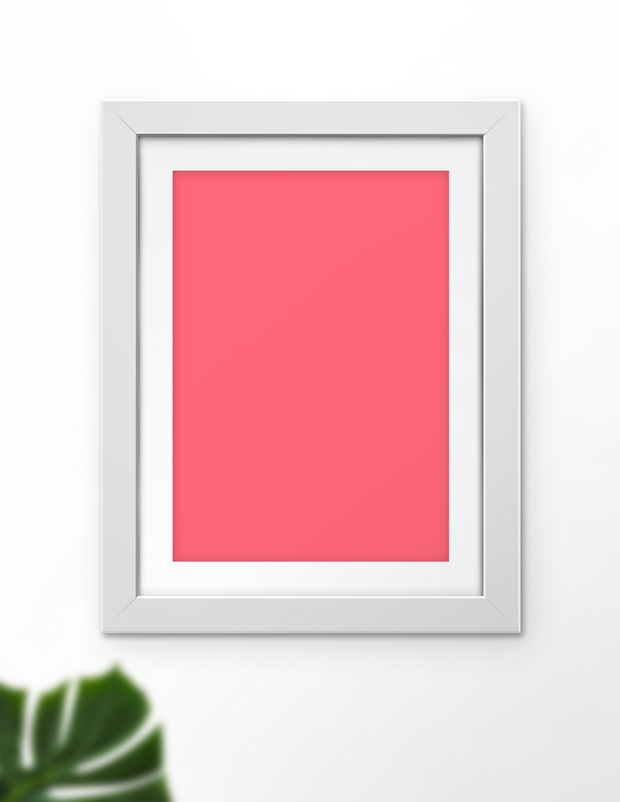 Simply Solids Coral
