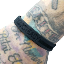 """Happy Smoking"" Silicone Wrist Bands (Black)"