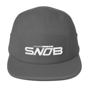 """SNOB"" Five Panel Hat (More Options)"