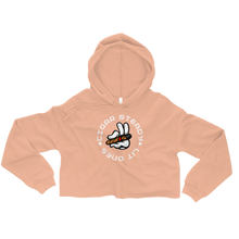 """Lit Ones"" Crop Hoodie (More Options)"