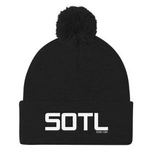 """SOTL"" Pom Pom Knit Cap (More Options)"