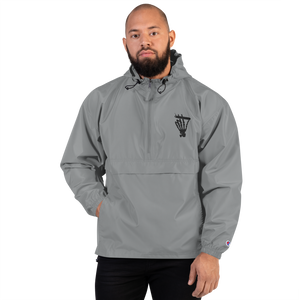 "Men's ""Still Smoking"" Embroidered Champion Packable Jacket (More Options)"
