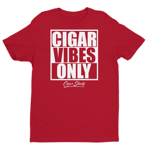 "Men's ""Cigar Vibes Only"" Short Sleeve T-shirt (More Options)"