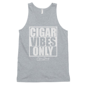 """Cigar Vibes Only"" Classic tank top (More Options)"