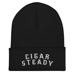 """Cigar Steady Jag"" Cuffed Beanie - More Options"