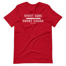 "Men's ""Shoot Guns Smoke Cigars"" Short-Sleeve T-Shirt (More Options)"