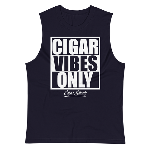 "Men's ""Cigar Vibes"" Muscle Shirt (more options)"