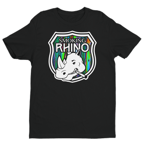 "Men's ""Smoking Rhino"" Short Sleeve T-shirt (More Options)"