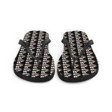 """Lit Ones"" Flip-Flops (Black)"