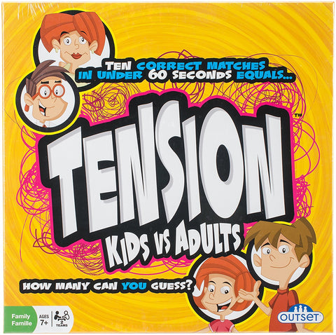 Outset Media - Tension Kids vs. Adults - Family Edition of the Popular UK Game