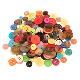Hygloss Products Bucket O' Buttons, Assorted Buttons for Arts and Crafts, 1 Pound Bucket