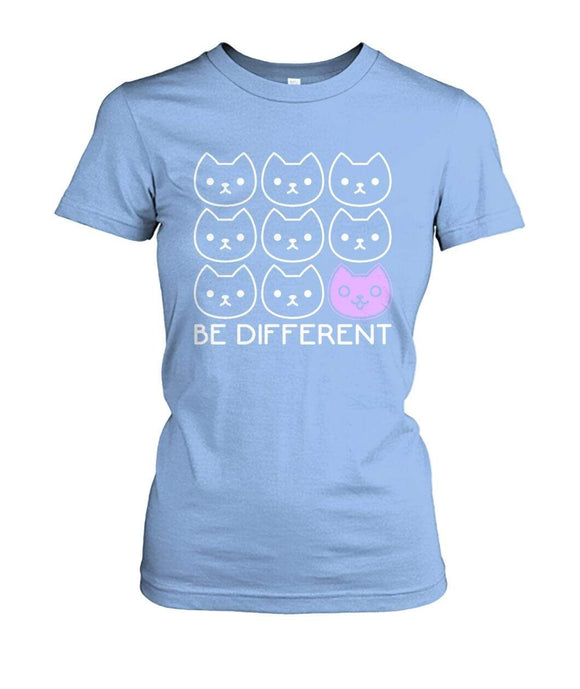 Be Different Women Tee Ladies Tees P.H.A.Z.E.S. Light Blue / S / Women's Crew Tee