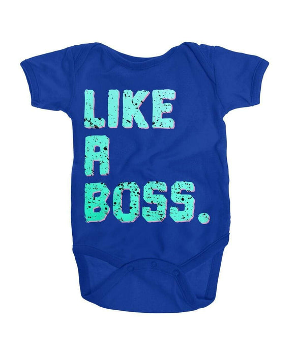 Like A Boss Onesie Kids ViralStyle Royal / NB / Onesies