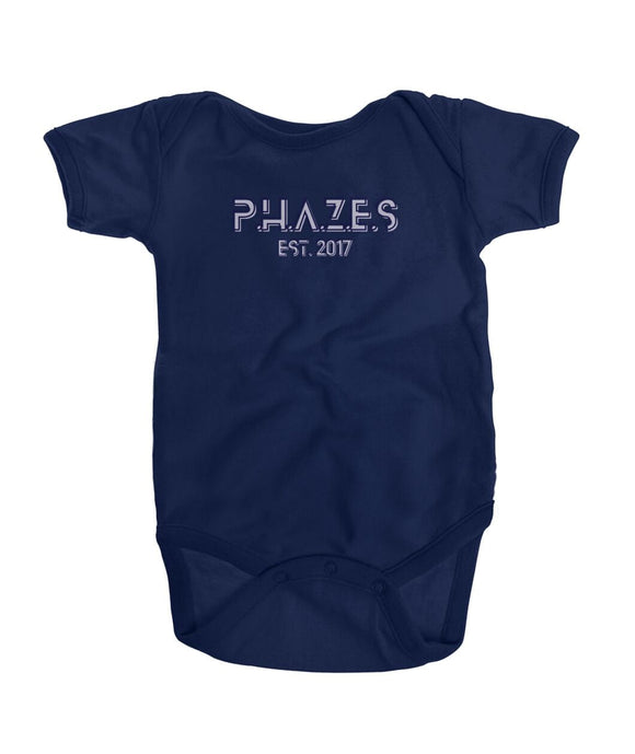 Phazes Established Onesie Kids ViralStyle Navy / NB / Onesies