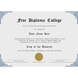 University - College Diplomas - FIRST STEP TRANSLATIONS CORPORATION