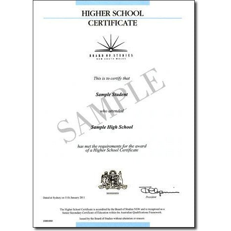 High School Certificates - FIRST STEP TRANSLATIONS CORPORATION