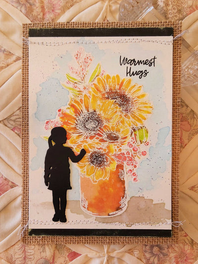 Warmest Hugs Card - Deborah Adams