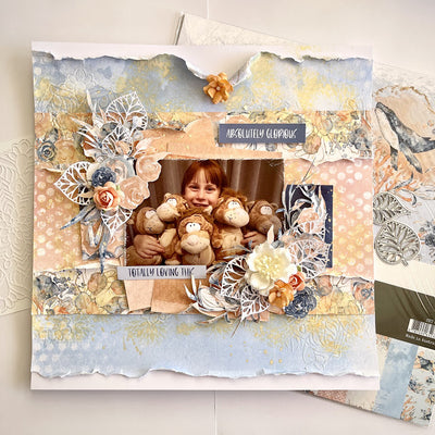 Absolutely Glorious Layout - Tania Ridgwell