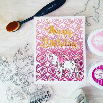 Unicorn Card - Kelly Bates