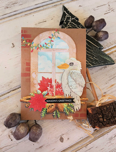 Aussie Season Greetings Card - Deb Adams