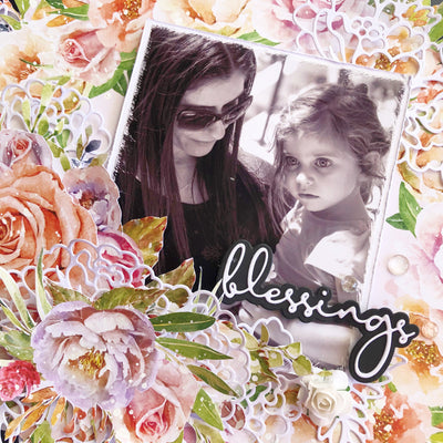 Blessing Layout - Tania Ridgwell