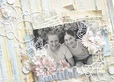 Beautiful Layout - Tania Ridgwell