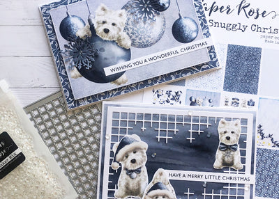 Snuggly Christmas Cards - Tanya Heritage