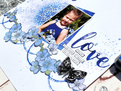 Love Layout - Elisa Ablett