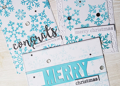 Snowflake Cards - Kelly Bates