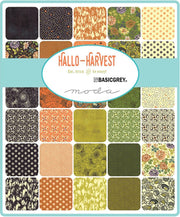 Hallo Harvest by Basic Grey Charm Pack - Moda Fabrics