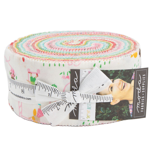 Best Friends Forever by Stacy Iest Hsu Jelly Roll - Moda Fabrics