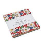 Play All Day by American Jane Charm Pack - Moda Fabrics