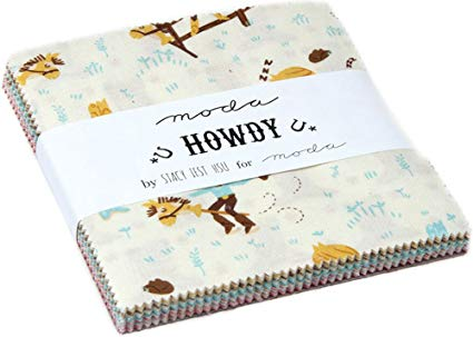 Howdy by Stacy Iest Hsu Charm Pack - Moda Fabrics