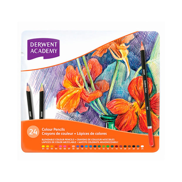 Derwent Academy 24 Pencils