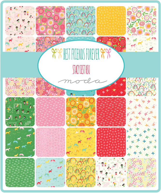 Best Friends Forever by Stacy Lest Hsu Layer Cake - Moda Fabrics