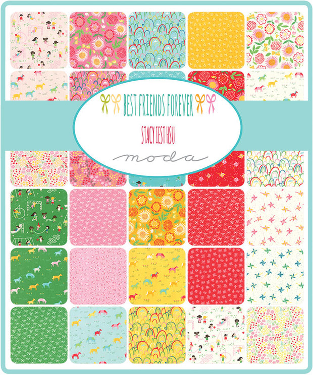 Best Friends Forever by Stacy Iest Hsu Charm Pack - Moda Fabrics