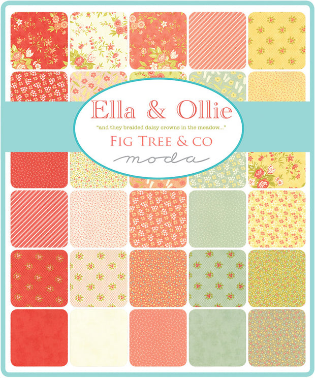 Ella & Ollie by Fig Tree & Co Layer Cake - Moda Fabrics