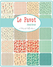 Le Pavot - Sandy Gervais Fat Quarter Pack (26 pieces) + 3 Panels